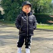 This Little Boy Is The Son Of A Famous Footballer, See 15 Photos That Proves He Dresses Stylishly