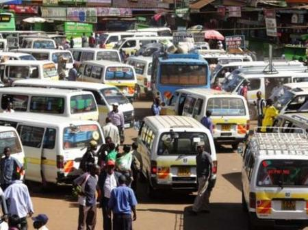 Tension in Bomet as a Matutu Travel From Nairobi with a COVID-19 Patient