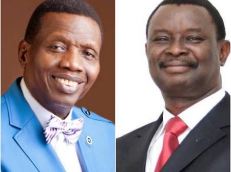 Pastor Enoch Adeboye Eulogizes Mike Bamiloye Of Mount Zion Faith Ministries Today.