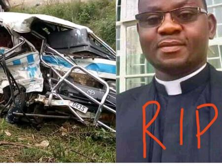 3-Month Old Ordained Catholic Priest Dies In Ghastly Motor Accident.