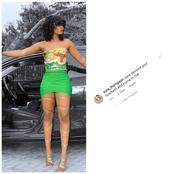Reaction As Jane Mena Poses In New Photo