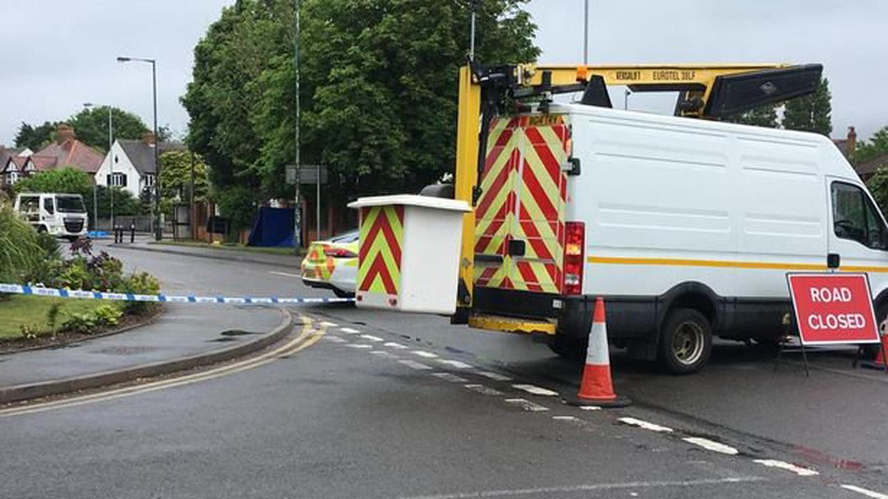 Flowers left at scene as man killed and four hurt in Walsall junction crash