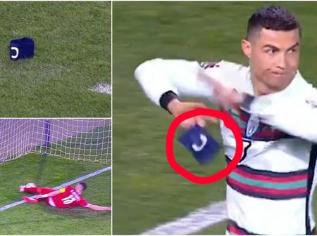 Fans In Shock, Captain Armband Thrown To The Floor By Ronaldo Now Sells For R14.7 million