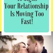 Opinion: Signs your relationship is moving too fast and needs to stop