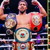 Don't Miss Out As Boxer Anthony Joshua's Lends Voice To Nigerians- 'You definitely have my support'.
