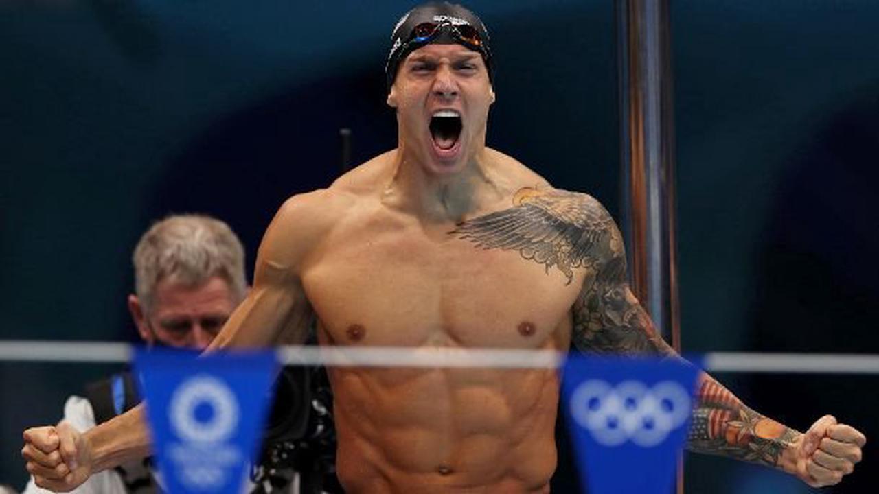 Fast wie Phelps: US-Schwimmstar holt fünftes Gold