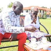 Kenyans React After The DP Ruto Met Njambi, The Granny Who Requested To Meet Him Through Kiharu Mp