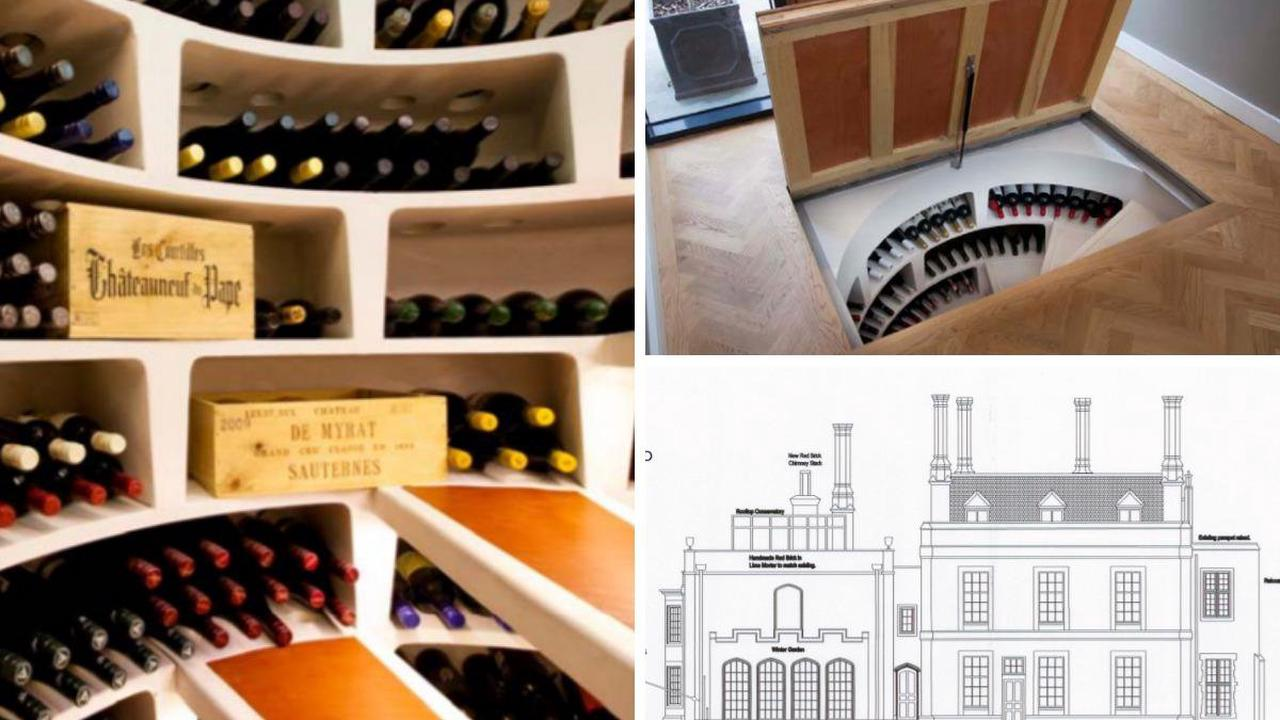 The Manor House in Stoke Poges to install spiral wine cellar with trap door