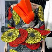 25 Gorgeous Ankara Skirt And Blouse Styles you can slay with This Month