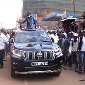 Hustlers of Nyeri Stops Kalonzo's 'Reggae'