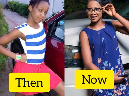 Actress Mercy Kenneth is 12 Years Old Today, Check Out Her Throwback & Recent Photos
