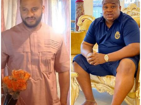 Adorable Photos Of Cubana Chief Priest And Yul Edochie Trending This Week