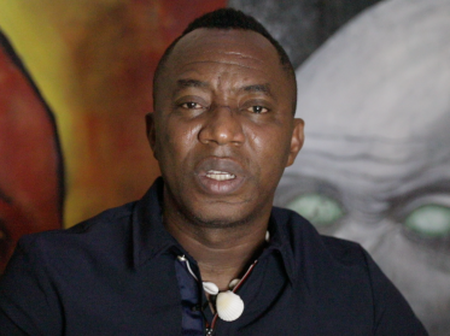 Sowore Send Strong Message To Nigerians In UK About This.