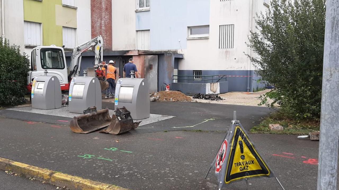 Saint-Nazaire : une importante fuite de gaz après un incendie de haie