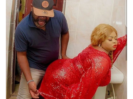 Photos of Funsho Adeolu with Toyin Abraham, Mide Martins, Funke Akindele and other actors