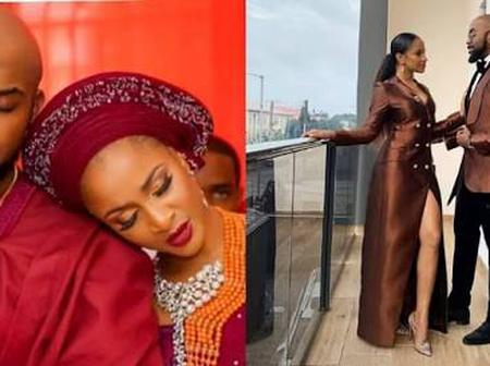 See Lovely Photos of Banky-W and his Wife Adesua, as they Celebrate Their 3rd Marriage Anniversary