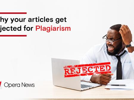 Why your articles get rejected for Plagiarism