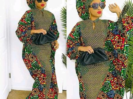 Check out some stylish and gorgeous kaftan styles to Sew On Easter Day With Stunning Outfits
