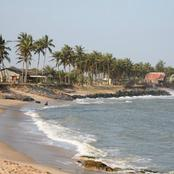 Sad: 5 beautiful young girls allegedly drown at Apam beach in the Central Region.