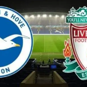 Brighton Vs Liverpool starting lineup and match statistics