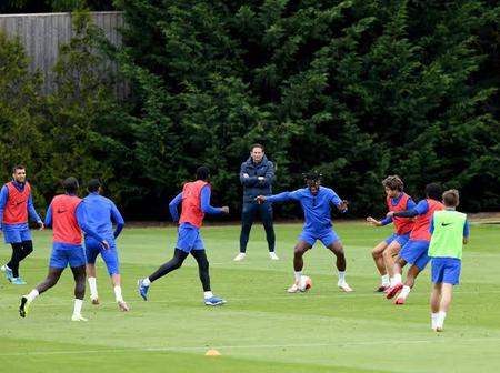 Goodnews for Chelsea fans as players join training ahead of the Champions League clash with Sevilla