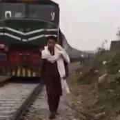 شاب يدهسه قطار أثناء تصوير فيديو وطفلة تختنق أثناء خوض تحدى..