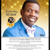 A Top Nigerian Governor Celebrates Pastor E. A. Adeboye As He Turns 79years, See What He Wrote
