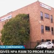 Steinhoff gives NPA R30 Million to investigate fraud.