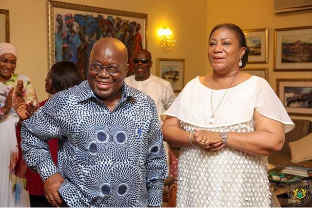 b8e2279aed784ed48fc70d56d46bfc4e?quality=uhq&resize=720 - Madam Rebecca Akufo-Addo Share What She Got On Valentine's Day From Her Husband With An Appreciation