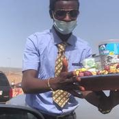 After this Fulani man was spotted on corporate attire selling kolanut, See what a former senator did