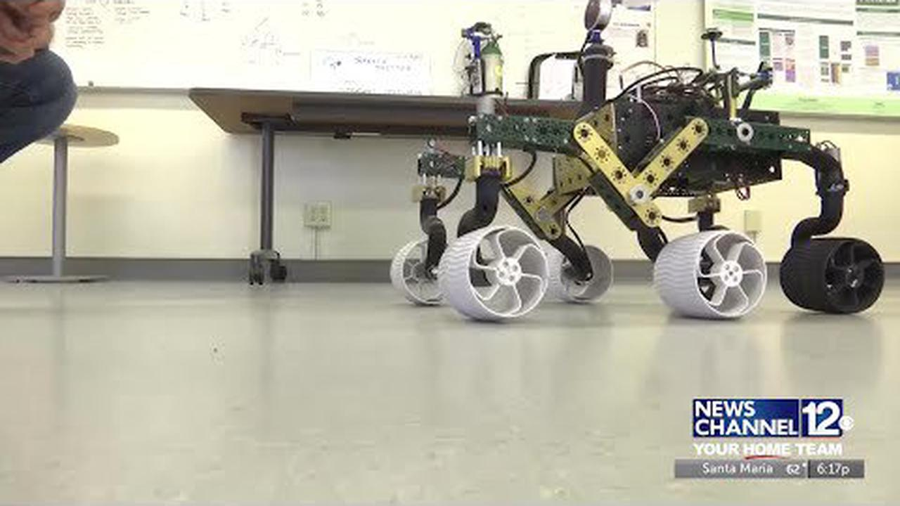 Cal Poly students build space rover
