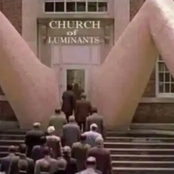 See the entrance of a Church in the US that has gotten so many Criticisms