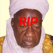 Sad! Alhaji Salihu Tanko, The Emir Of Kagara Is Dead