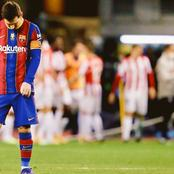 Messi Sees Red As Barcelona Lose The Super Cup.