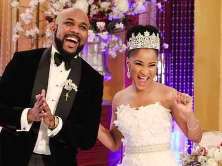 Banky W shares special moments as he celebrates his wedding anniversary.