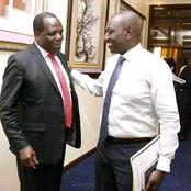 Gabriel Muthuma Reveals How Long DP Ruto's Meeting With Oparanya Lasted, Asks This Tough Question