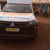 Législatives à Biankouma (3G) /soutien au candidat Rhdp : Albert Flindé offre une ambulance à Guiane