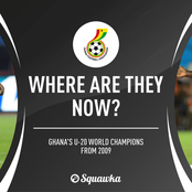 Where Are They Now? The Ghana Team Who Beat Brazil To Win The U-20 World Cup.