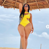 Chef Chioma, Juliet Ibrahim And Ini Edo, Who Rocked The Bikini Outfit Better?