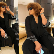 Actress Omotola Jalade Causes Reactions Online As She Poses In Gorgeous Pictures