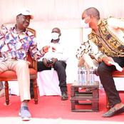 Amason Kingi And Raila Disagree in Public Over Formation of a New Political Party