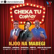 Diamond Platnumz's Wasafi Media Launches a Comedy Talent Search.