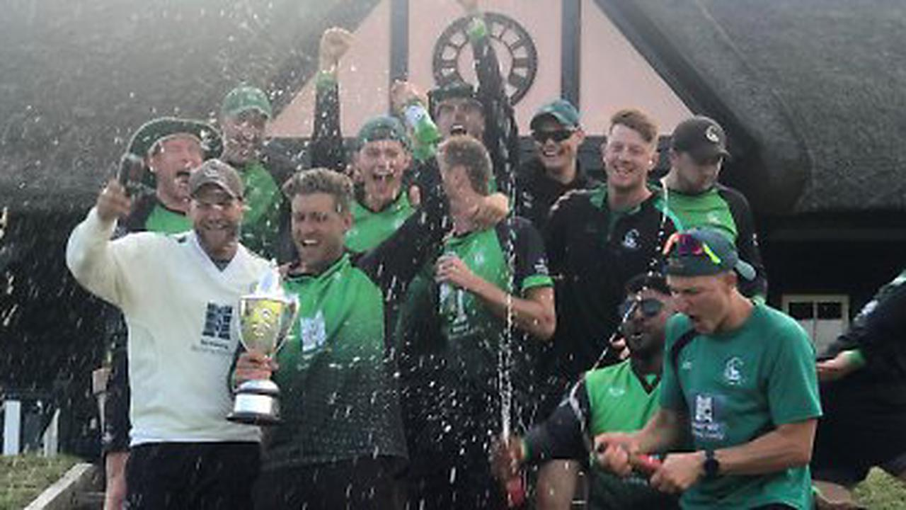 Perera and Albert's stand help county retain trophy