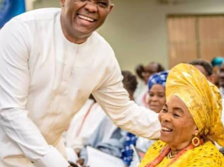 See Adorable Photos Of Billionaire Banker, Tony Elumelu And His Lovely Mother
