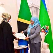 Sports CS Amina Mohamed Meets Tanzania President Samia Suluhu In Dar-Es-salam (Photo)