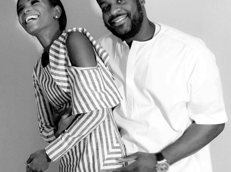 Agbani Darego And Her Husband Are Super Adorable In Their New Year Photo