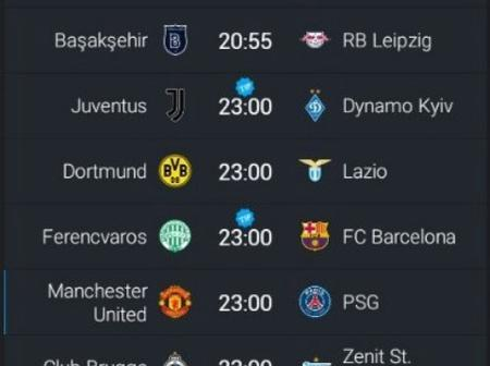 Tonight's Well Analyzed UEFA Champions League Matches to Win you Big