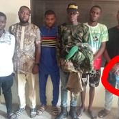 See What A Lady Noticed As The Nigerian Army Arrested 6 Fake Officers In Delta Mounting Roadblock