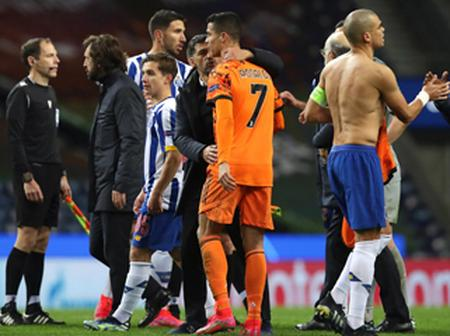 """Ref: """"Ronaldo was just asking about added time"""""""