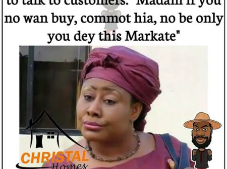 Different Types Of People You Will Meet In Nigerian Market (Memes)